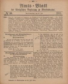 Amts-Blatt der Königlichen Regierung zu Marienwerder, 29. Juli 1903, No. 30.