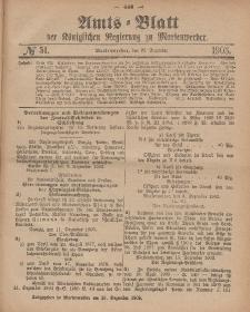 Amts-Blatt der Königlichen Regierung zu Marienwerder, 22. Dezember 1903, No. 51.
