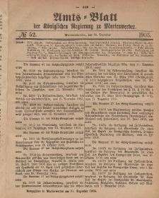 Amts-Blatt der Königlichen Regierung zu Marienwerder, 30. Dezember 1903, No. 52.