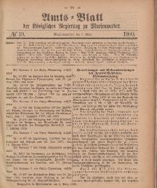Amts-Blatt der Königlichen Regierung zu Marienwerder, 7. März 1900, No. 10.
