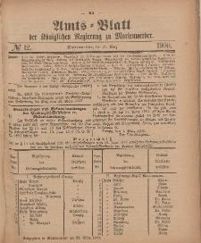 Amts-Blatt der Königlichen Regierung zu Marienwerder, 21. März 1900, No. 12.