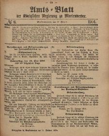 Amts-Blatt der Königlichen Regierung zu Marienwerder, 10. Februar 1904, No. 6.