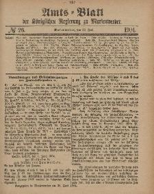 Amts-Blatt der Königlichen Regierung zu Marienwerder, 29. Juni 1904, No. 26.