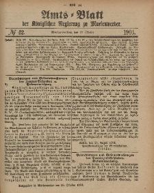 Amts-Blatt der Königlichen Regierung zu Marienwerder, 19. Oktober 1904, No. 42.