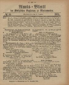 Amts-Blatt der Königlichen Regierung zu Marienwerder, 21. Dezember 1904, No. 51.