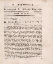 Gesetz-Sammlung für die Königlichen Preussischen Staaten, 30. Oktober, 1810, nr. 2.