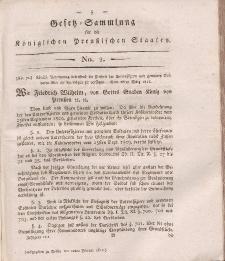 Gesetz-Sammlung für die Königlichen Preussischen Staaten, 12. Februar, 1812, nr. 2.