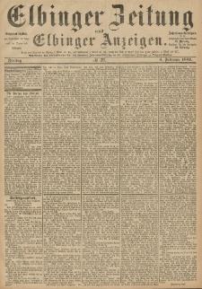 Elbinger Zeitung und Elbinger Anzeigen, Nr. 29 Freitag 4. Februar 1887