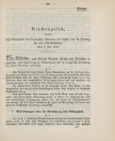 Gesetz-Sammlung für die Königlichen Preussischen Staaten (Kirchengesetz), 1900