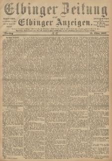 Elbinger Zeitung und Elbinger Anzeigen, Nr. 62 Dienstag 15. März 1887