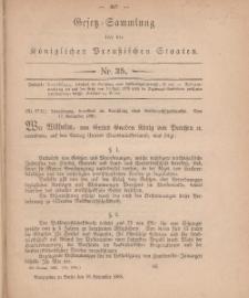 Gesetz-Sammlung für die Königlichen Preussischen Staaten, 19. November, 1880, nr. 35.