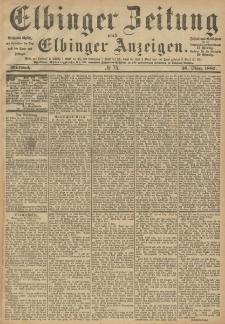 Elbinger Zeitung und Elbinger Anzeigen, Nr. 75 Mittwoch 30. März 1887