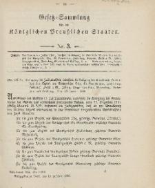 Gesetz-Sammlung für die Königlichen Preussischen Staaten, 13. Februar 1906, nr. 3.