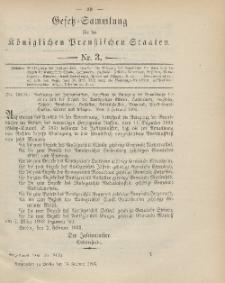Gesetz-Sammlung für die Königlichen Preussischen Staaten, 13. Februar 1903, nr. 3.