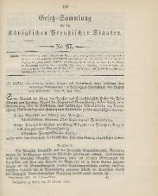 Gesetz-Sammlung für die Königlichen Preussischen Staaten, 20. Oktober 1903, nr. 27.