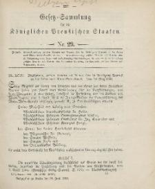 Gesetz-Sammlung für die Königlichen Preussischen Staaten, 30. Juni 1906, nr. 29.