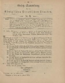 Gesetz-Sammlung für die Königlichen Preussischen Staaten, 11. Februar 1904, nr. 3.