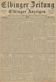 Elbinger Zeitung und Elbinger Anzeigen, Nr. 111 Sonnabend 14. Mai 1887