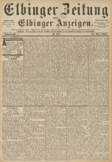 Elbinger Zeitung und Elbinger Anzeigen, Nr. 122 Sonnabend 28. Mai 1887