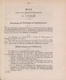 Gesetz-Sammlung für die Königlichen Preussischen Staaten (Handelskammer : 24.02.1870 - 19.08.1897), 1897