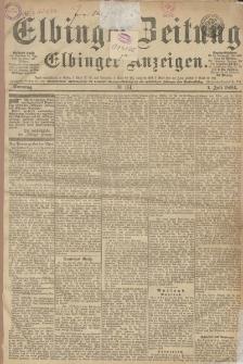 Elbinger Zeitung und Elbinger Anzeigen, Nr. 151 Sonntag 1. Juli 1894