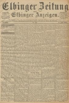 Elbinger Zeitung und Elbinger Anzeigen, Nr. 152 Dienstag 3. Juli 1894