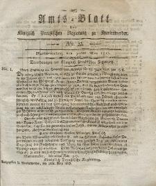 Amts-Blatt der Königlich Preußischen Regierung zu Marienwerder, 30. Mai 1817, No. 22.
