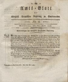 Amts-Blatt der Königlich Preußischen Regierung zu Marienwerder, 6. Juni 1817, No. 23.