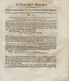 Amts-Blatt der Königlich Preußischen Regierung zu Marienwerder, 13. Juni 1817, No. 24.