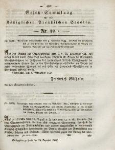 Gesetz-Sammlung für die Königlichen Preussischen Staaten, 23. Dezember 1844, nr. 42.