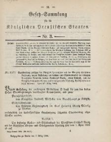 Gesetz-Sammlung für die Königlichen Preussischen Staaten, 7. März 1894, nr. 3.