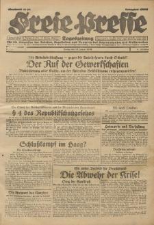 Freie Presse, Nr. 8 Freitag 10. Januar 1930 6. Jahrgang