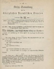 Gesetz-Sammlung für die Königlichen Preussischen Staaten, 5. Mai 1894, nr. 11.