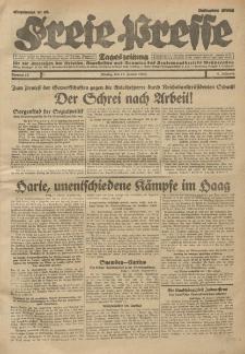 Freie Presse, Nr. 10 Montag 13. Januar 1930 6. Jahrgang