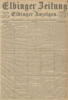 Elbinger Zeitung und Elbinger Anzeigen, Nr. 164 Dienstag 17. Juli 1894