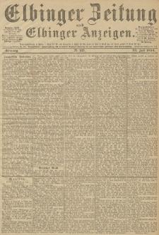 Elbinger Zeitung und Elbinger Anzeigen, Nr. 169 Sonntag 22. Juli 1894