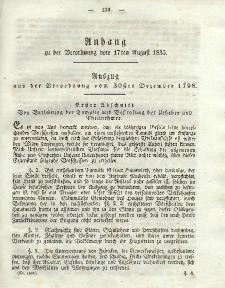 Gesetz-Sammlung für die Königlichen Preussischen Staaten (Anhang), 17. August 1835
