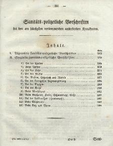 Gesetz-Sammlung für die Königlichen Preussischen Staaten (Sanitats-polizeiliche Vorschriften), 1835