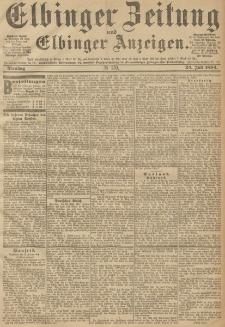 Elbinger Zeitung und Elbinger Anzeigen, Nr. 170 Dienstag 24. Juli 1894