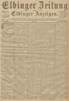 Elbinger Zeitung und Elbinger Anzeigen, Nr. 171 Mittwoch 25. Juli 1894