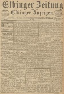 Elbinger Zeitung und Elbinger Anzeigen, Nr. 175 Sonntag 29. Juli 1894