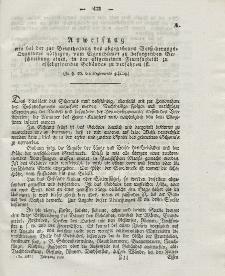 Gesetz-Sammlung für die Königlichen Preussischen Staaten (Anweisung), 1838