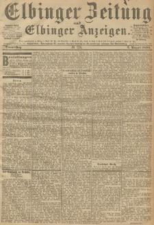 Elbinger Zeitung und Elbinger Anzeigen, Nr. 178 Donnerstag 2. August 1894