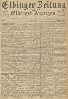 Elbinger Zeitung und Elbinger Anzeigen, Nr. 181 Sonntag 5. August 1894