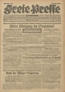 Freie Presse, Nr. 42 Mittwoch 19. Februar 1930 6. Jahrgang