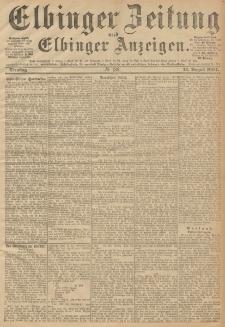 Elbinger Zeitung und Elbinger Anzeigen, Nr. 188 Dienstag 14. August 1894