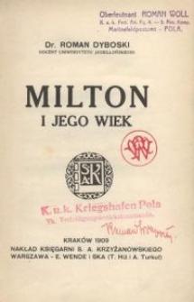 Milton i jego wiek