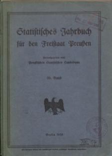Statistisches Jahrbuch für den Freistaat Preußen, 26. Jahrgang 1929