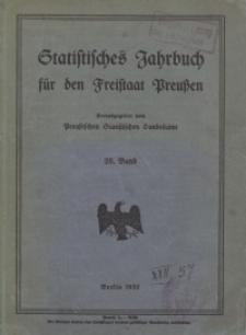 Statistisches Jahrbuch für den Freistaat Preußen, 28. Jahrgang 1931