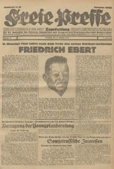 Freie Presse, Nr. 47 Dienstag 25. Februar 1930 6. Jahrgang